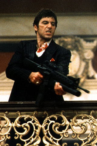 SCARFACE WALLPAPER for iPhone and iPod Touch